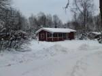 En del snö